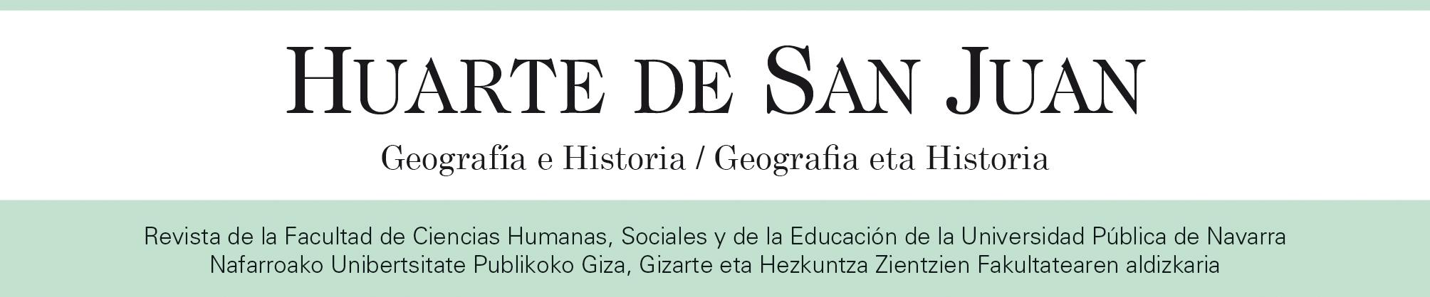 HUARTE DE SAN JUAN. GEOGRAFÍA E HISTORIA